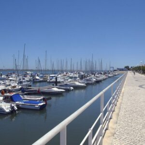 Vila Real Marina - Across the border from Vila Real is Spain